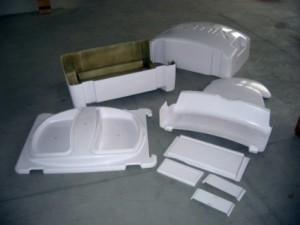 Sviluppo di manufatto in composito per azienda terza
