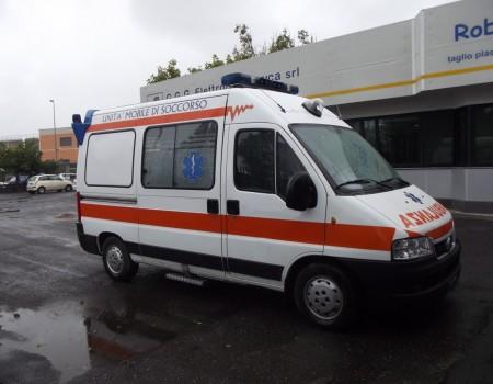 Rif. A68 – Ambulanza su Fiat Ducato
