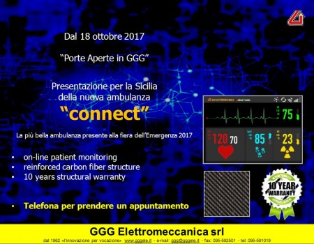 "Porte aperte in GGG – nuova ambulanza ""connect"""