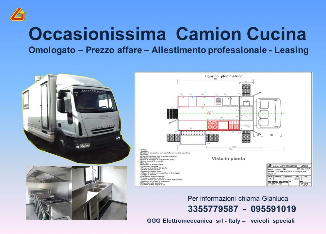 Occasionissima Camion Cucina