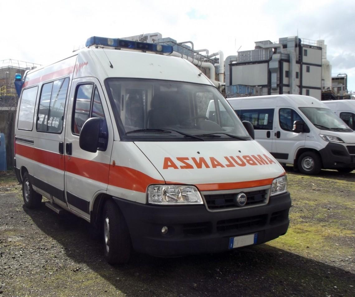 Rif. A67 – Ambulanza su Fiat Ducato