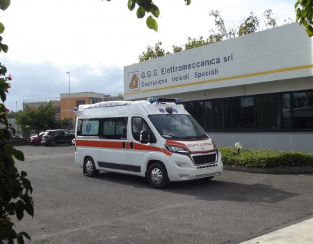 Rif. A82 – Ambulanza in pronta consegna