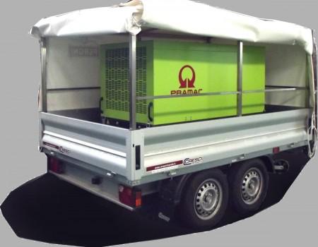 Rif. A94 – Carrello generatore di corrente elettrica