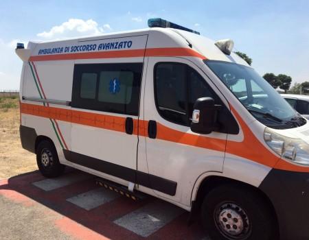 Rif. A96 – Centro mobile di rianimazione