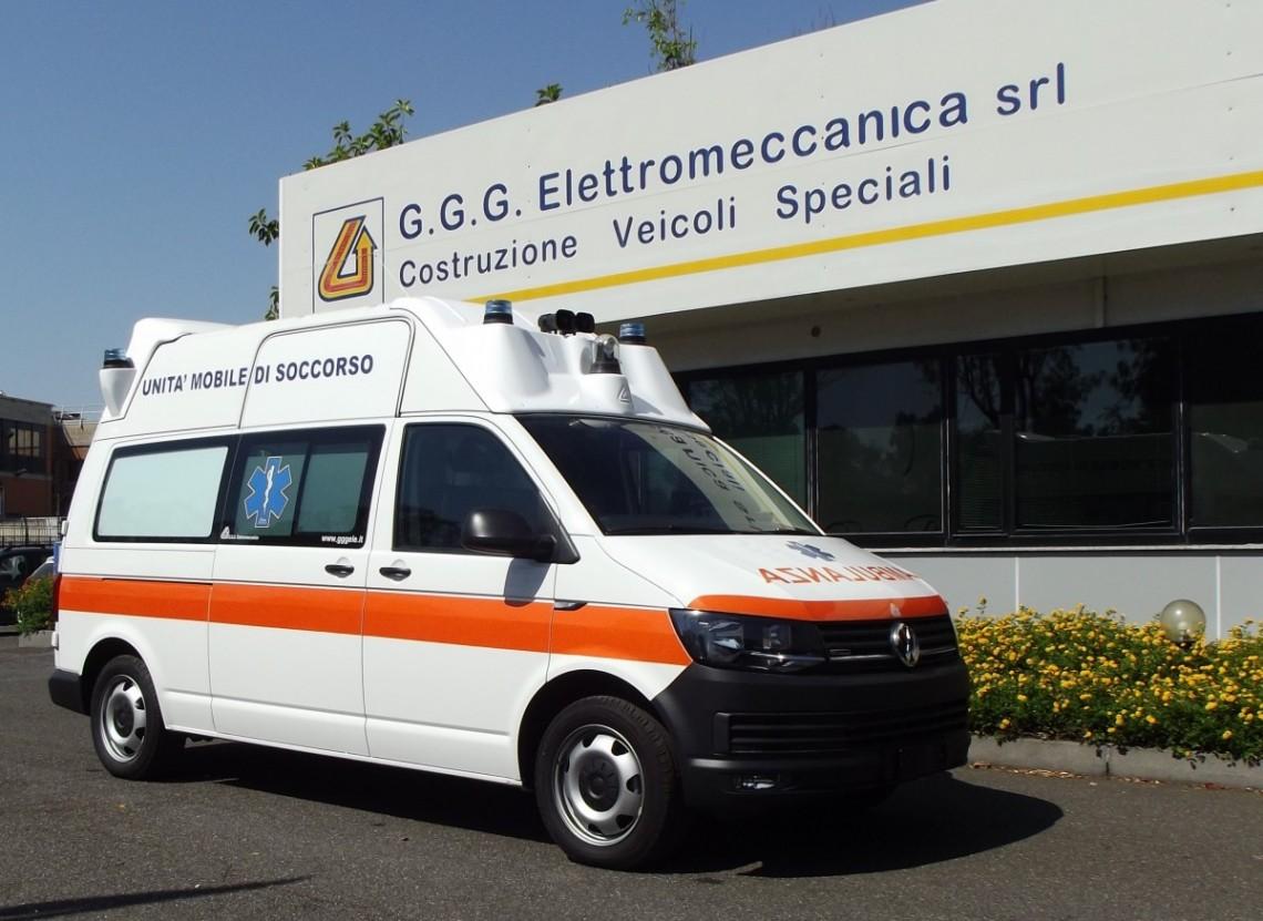 Rif. A95 – Ambulanza T6 pronta consegna