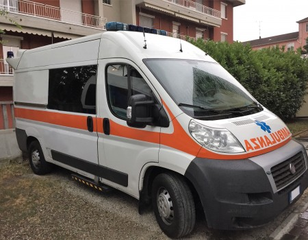 Rif. A97 – Ambulanza usata su Fiat Ducato 2.3mjt