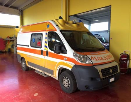 Rif. A99 – Ambulanza su Fiat Ducato 3.0