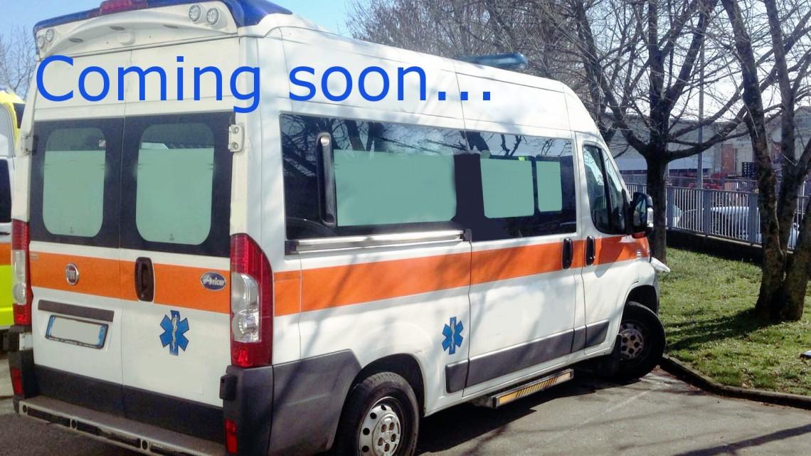 Rif. A101 – Ambulanza su Fiat Ducato 2.300Jtd