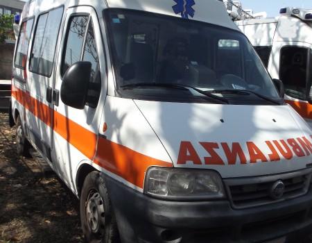 Rif. A103 – Ambulanza su Fiat Ducato 2.8