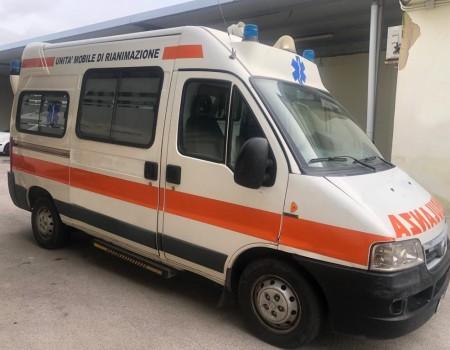 Rif. A104 – Ambulanza su Fiat Ducato 2.8