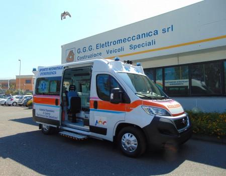 Ambulanza Neonatale Az. Osp. Sant'Anna e San Sebastiano – Caserta