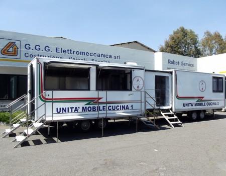 Sistema cucina per Protezione Civile