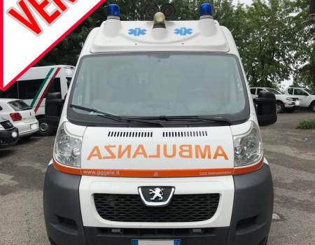 Rif. A106 – Ambulanza su Peugeot Boxer 2.2