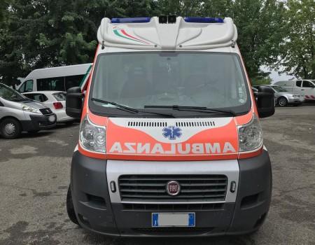 Rif. A107 – Ambulanza su Fiat Ducato 2.3Mjt