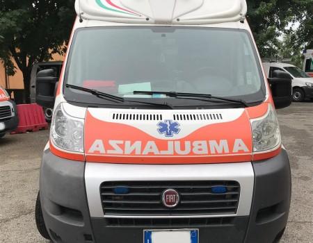 Rif. A108 – Ambulanza su Fiat Ducato 2.3Mjt