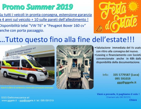 Promo dell'estate