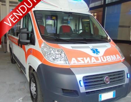 Rif. A119 – Ambulanza su Fiat Ducato 2.3Mjt