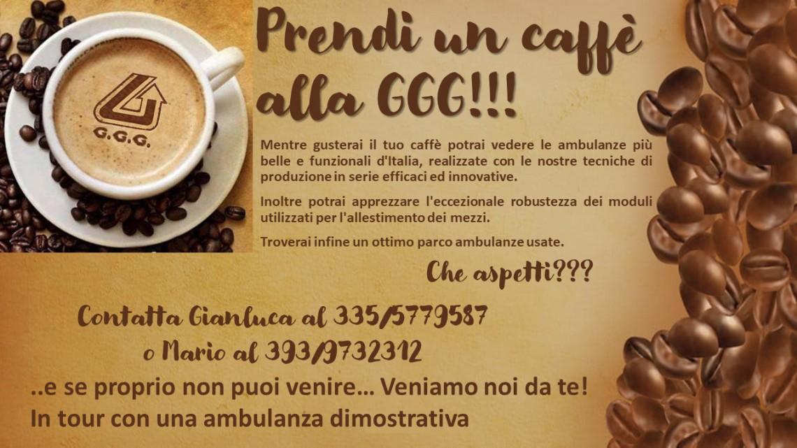 Vieni a prendere un caffè da noi !