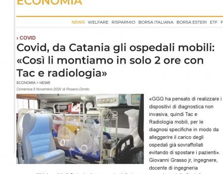 Ospedali mobili GGG Elettromeccanica