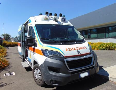 Rif. A124 – Ambulanza su Peugeot Boxer 2.2Hdi
