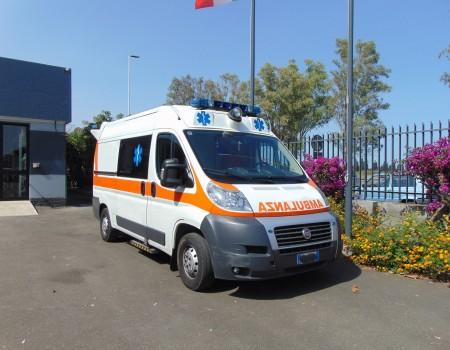 Rif. A126 – Ambulanza su Fiat Ducato 2.3Mjt