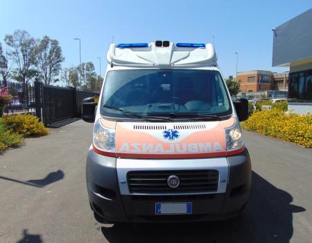 Rif. A127 – Ambulanza su Fiat Ducato 2.3Mjt